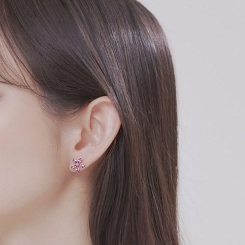 [윙블링] 라벤더블룸3 귀걸이/귀찌
