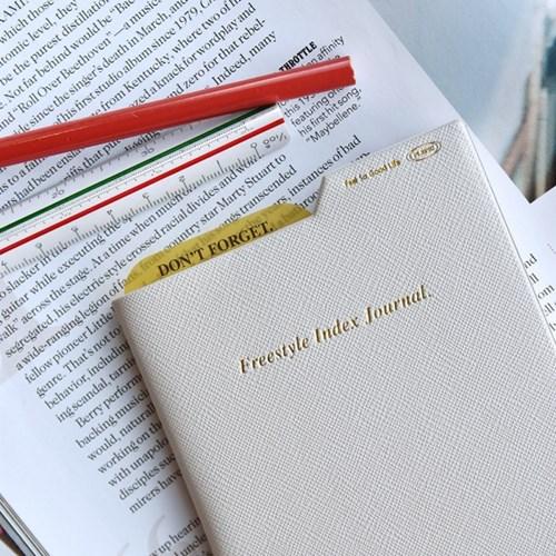 (만년형 다이어리) Freestyle Index Journal