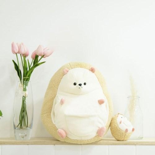 [집콕,재택근무]애착인형 완충쿠션 마봉이[고슴도치35cm]