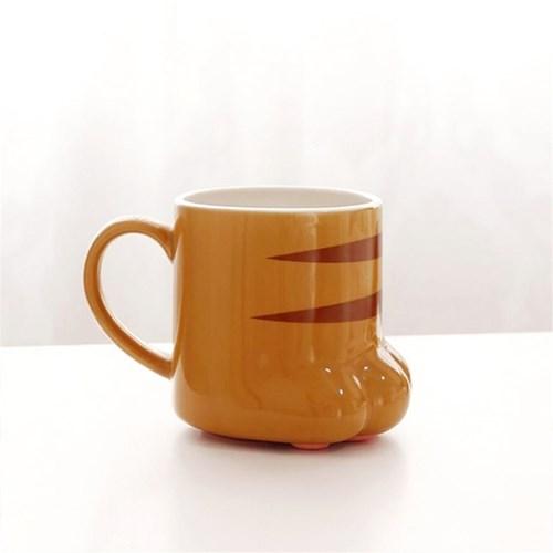 썬아트정품 고양이발 머그컵 1P