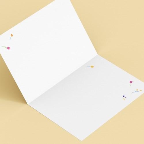 캘리엠 새해에는 웃을일만 캘리그라피 카드