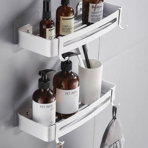 프리미엄 무타공 화장실 욕실선반 코너선반