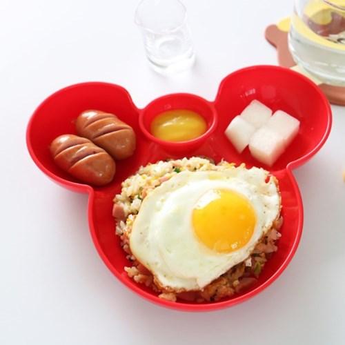 곰돌이 나눔접시 간식접시