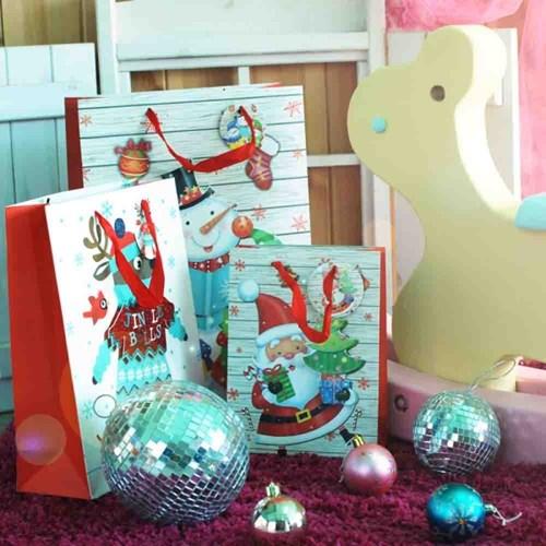 [아이스타] 크리스마스 선물용 쇼핑백 모음