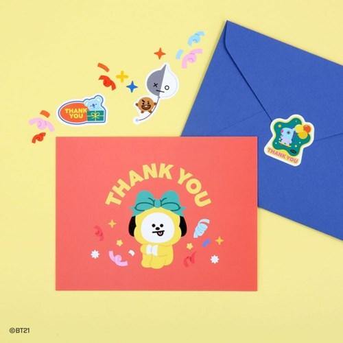 [BT21] 엽서 세트-THANK YOU_(985678)