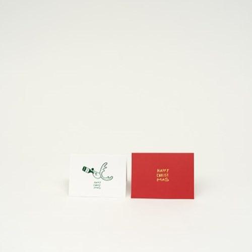 Happy Christmas&Happy New Year card