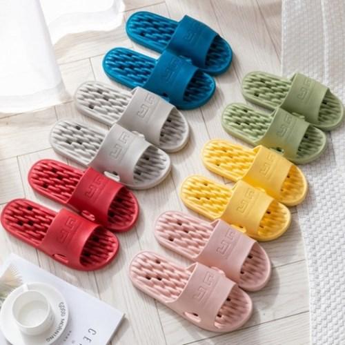 [1+1 무료배송]엠보싱 EVA 미끄럼 방지 욕실화 슬리퍼 5color