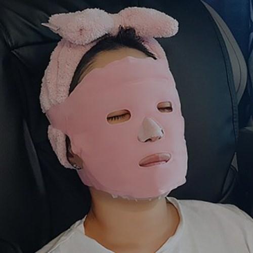 경락 순환 마스크 리프팅 마사지밴드 얼굴 붓기 피부 v라인 팩