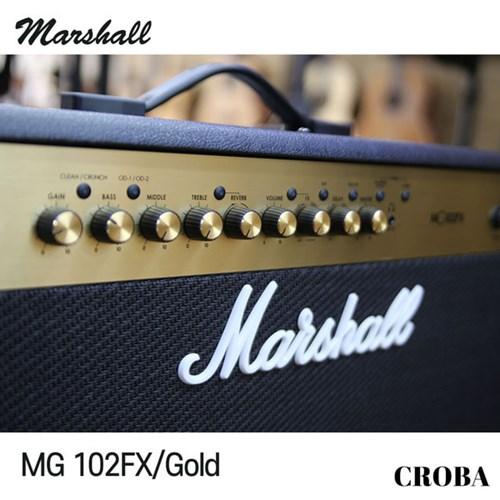마샬 앰프 MG-102FX 콤보앰프 골드