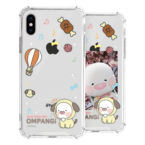 옴팡이 몽글 포토프레임 젤하드 케이스 아이폰12 시리즈