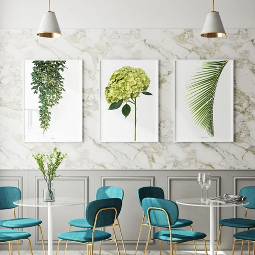 인테리어 식물 일러스트 아트 포스터 10종