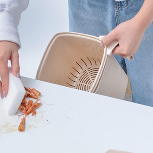 가정용 주방 분리수거통 밀폐 음식물 쓰레기통