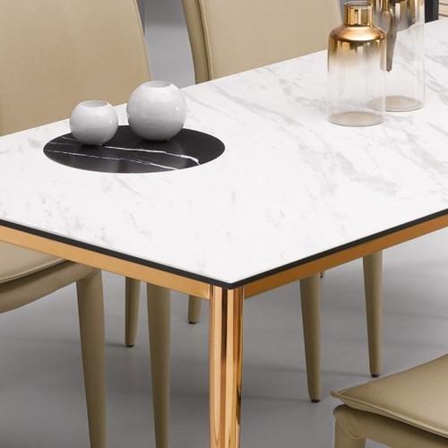 [데코마인] 반느 세라믹 1400 4인용 식탁 테이블
