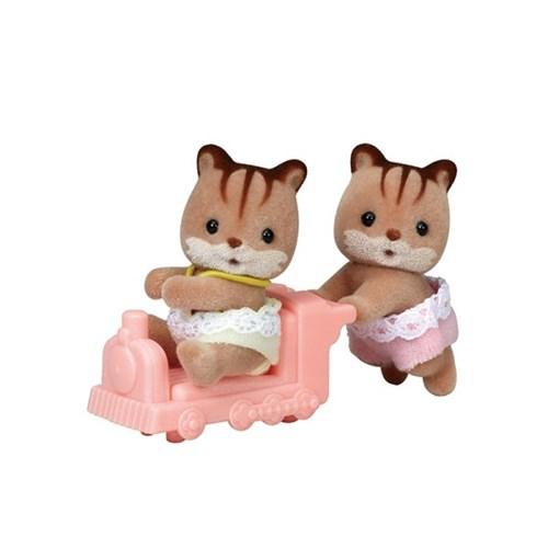 [실바니안공식]5421-호두다람쥐 쌍둥이_(1598065)