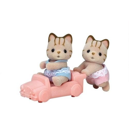 [실바니안공식]5429-줄무늬고양이 쌍둥이_(1598059)