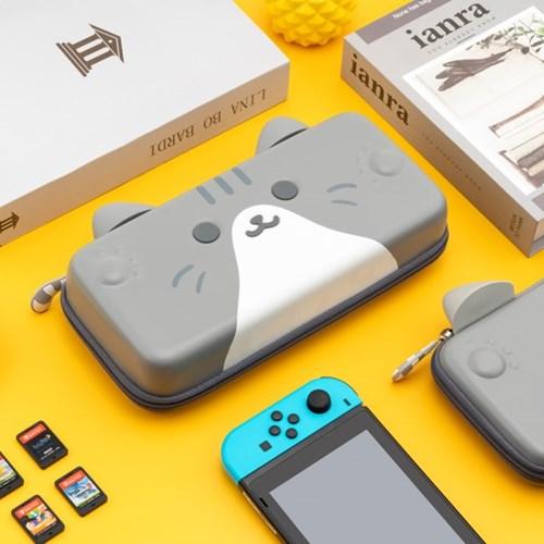 닌텐도 스위치 고양이귀 백 파우치 휴대용 큐티캣츠 케