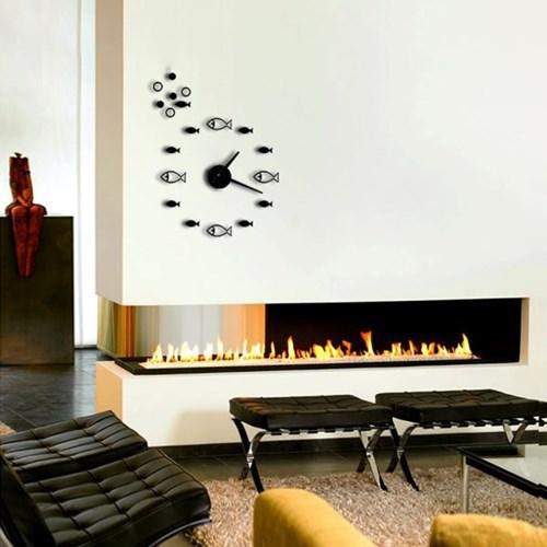 DIY 인테리어 벽시계 블랙/무소음시계 벽걸이시계