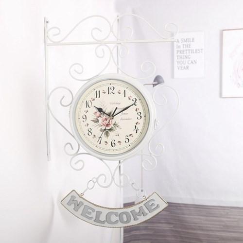 프로방스 양면 벽시계/ 개업선물 인테리어시계