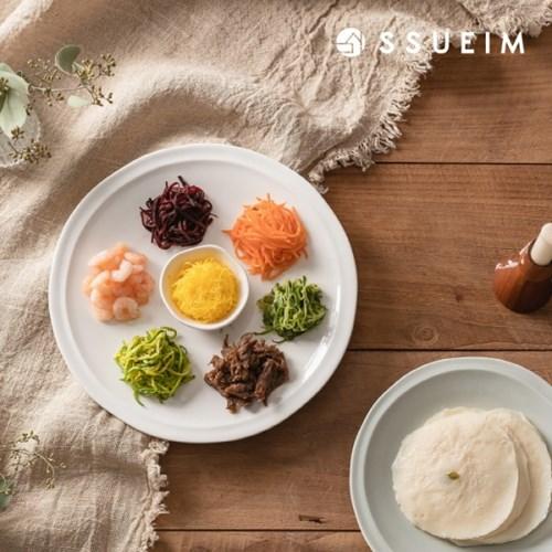 [쓰임] 포 레스트 원형접시 (대)