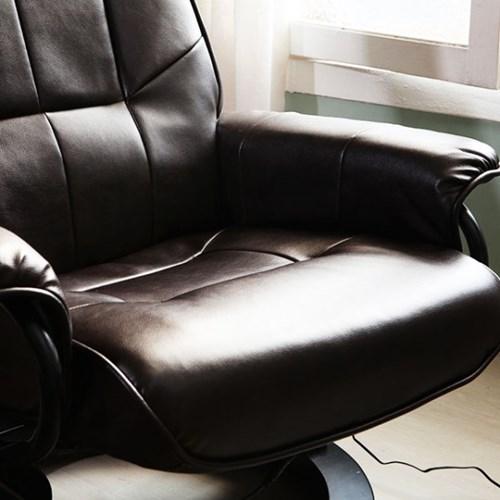 KUF 플루비 리클라이닝 안마 의자,스툴 세트_(2146695)