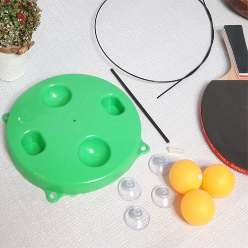 혼자서도 사용가능한 재미있는 실내 셀프 탁구 연습