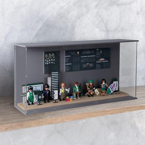 NL 스타벅스 레고 피규어장식장 진열장