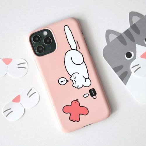 캣스타그램 핑크부플레 케이스