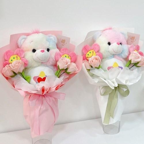 트루하트베어 인형 꽃다발