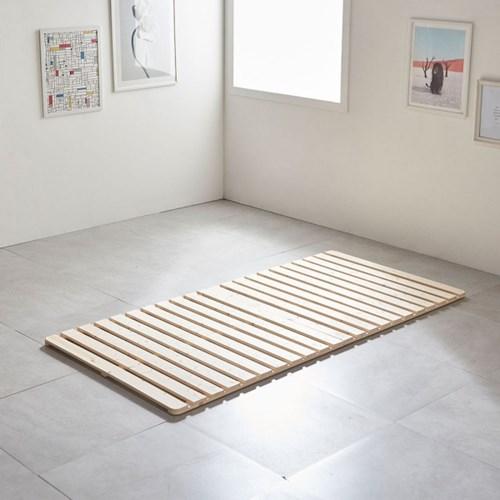 침대프레임 원목 매트리스깔판 저상형 4단 받침대