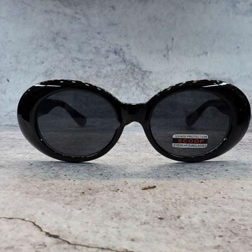 가벼운 도수없는 블랙 화이트 데일리 패션 선글라스