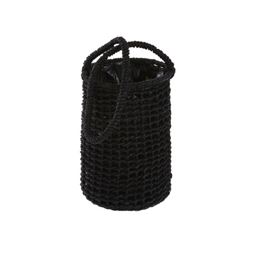 [모던하우스] 블랙 위빙 행잉 바스켓