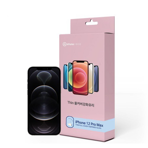 에이튠 아이폰 12 프로 맥스 씬 풀커버 강화유리