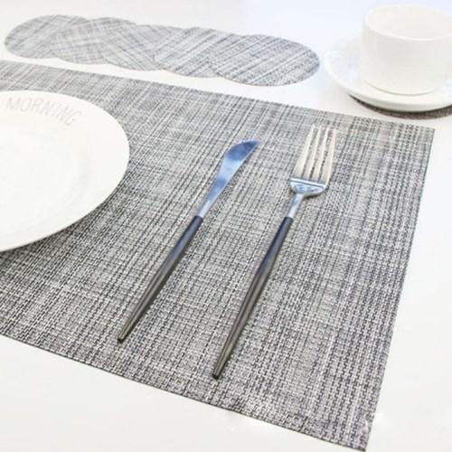 식탁 테이블 매트 PVC 심플 모던 플레이팅 테이블 셋팅 매트