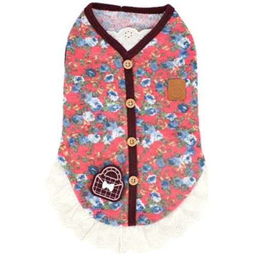 강아지옷 원피스 핑크 애견치마 드레스 여름옷 반려