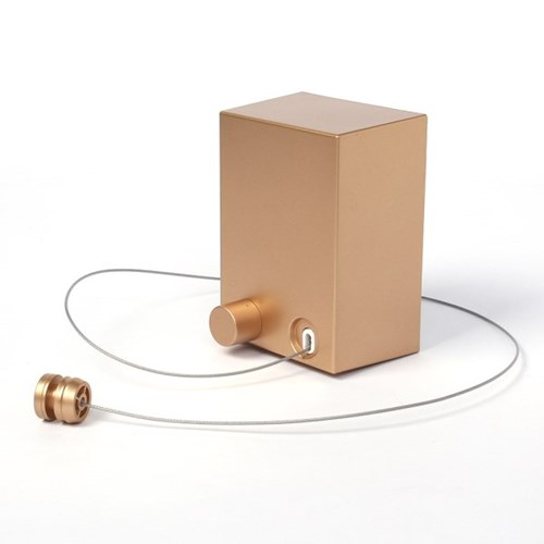스마트 와이어 빨랫줄 공간활용 스텐빨래줄(골드)