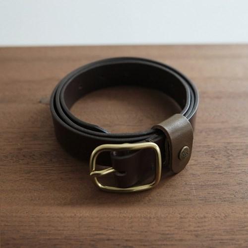 Square Basic Belt_Choco [YA101_CC]