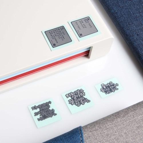 나태주 풀꽃 전자파 차단 스티커(메탈 스티커)