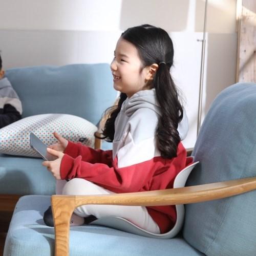 로이첸 체어 자세교정의자 키즈용(레드)