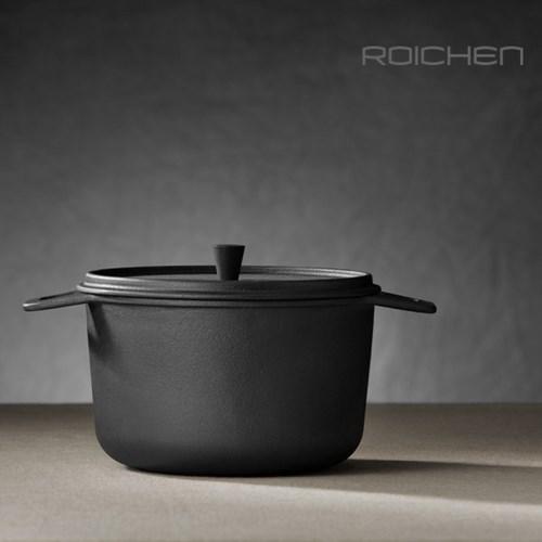 로이첸 인덕션 무쇠 가마솥 뚝배기 IH감성냄비 14cm, 18cm