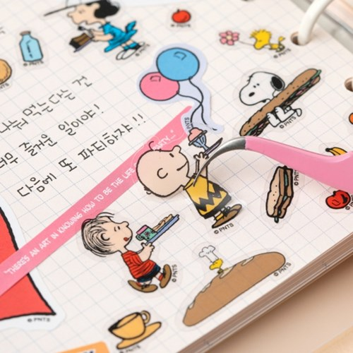 [Peanuts] 스누피 다꾸 스티커팩