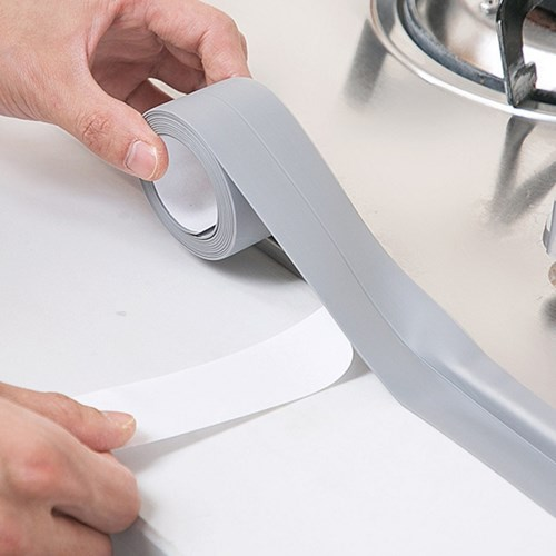 강력접착 다용도 투명 방수테이프 주방 욕실 변기 곰팡이방지테이프