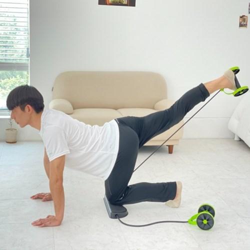 실내 복근 전신 운동 홈트 올인원 로프 슬라이딩밴드 헬스용품