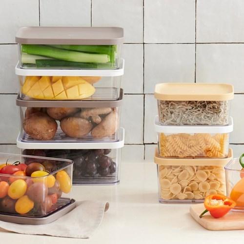 차곡차곡 밀폐용기 1+1 냉장고정리 전자레인지용기