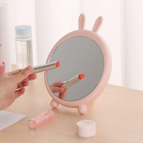 애니멀 화장거울 토끼 곰 탁상거울