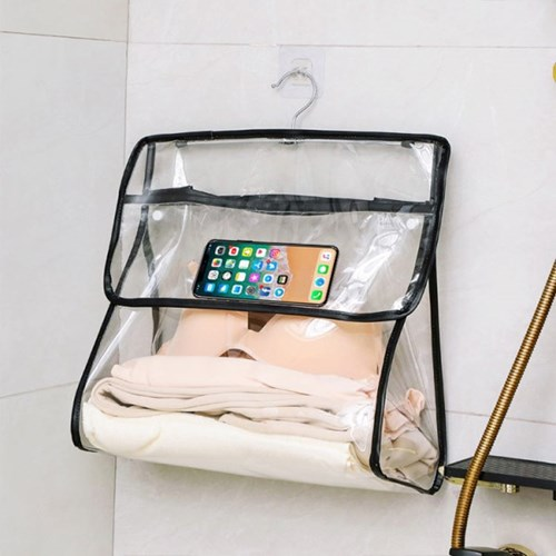 욕실 화장실 샤워실 수건 속옷 방수 팩 가방 수납 장