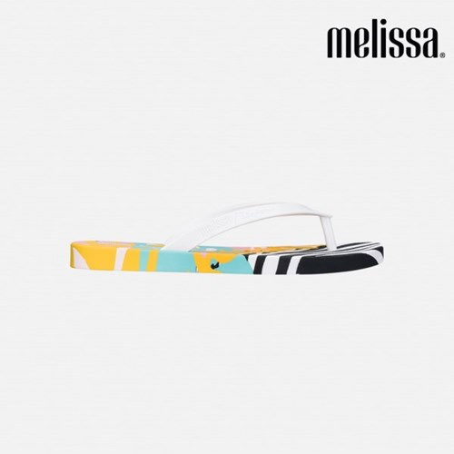 [멜리사] 20SS 이파네마 플립플랍 (화이트+옐로우+블랙)