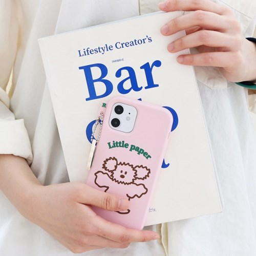 Little PaPer 리틀페퍼 실리콘 케이스 for iPhone11 series