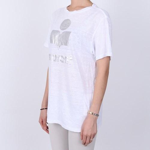 21FW 이자벨마랑 에뚜왈 ZEWEL 로고 티셔츠 (블랙) TS0406 00M008E 2