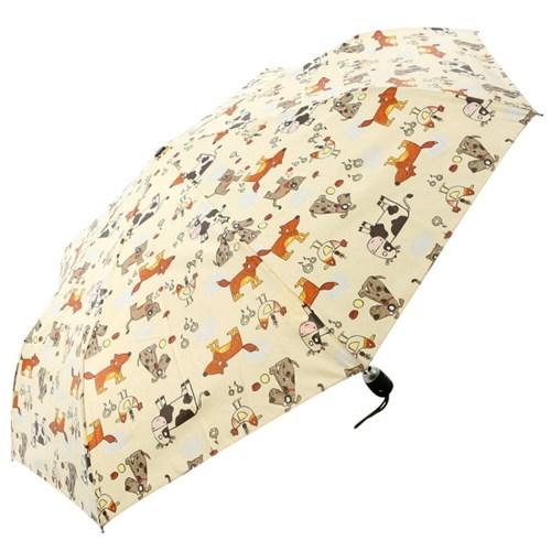 [VOGUE] 보그 3단 자동 우산(양산겸용) - 애니멀파크