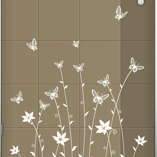 (현관문)나비숲